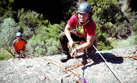 Waterfall Rappelling Trip with Gear for One or Two from Treks and Tracks (Up to 53% Off)