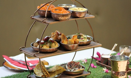 Indian Afternoon Tea with Optional Prosecco for Two at Park Grand Restaurant