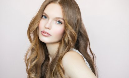 image for Wash, Cut and Blow-Dry with Optional Olaplex or Moroccan Conditioning Treatment at Divaz Salon (Up to 60% Off)
