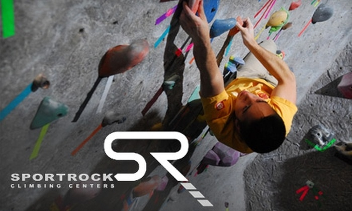 Sportrock Climbing Centers - Multiple Locations: $25 for $50 Worth of Courses, Climbing, and Rentals at Sportrock Climbing Centers