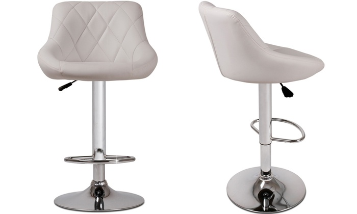 tabourets de bar matelass s groupon. Black Bedroom Furniture Sets. Home Design Ideas