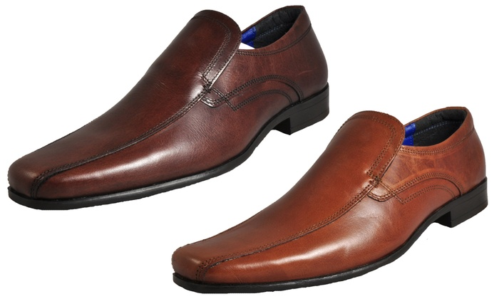 Up To 55% Off Red Tape Men's Slip On Brogues | Groupon