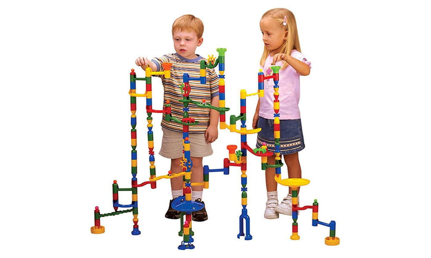 220-Piece Marble Run Set