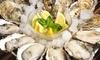 PIZZA&TAPAS&BAR DROP 恵比寿 - PIZZA&TAPAS&BAR DROP 恵比寿: 新鮮な牡蠣とジューシーなお肉を思う存分、味わえる≪生牡蠣・ステーキ食べ放題+飲み放題120分など/他1メニュー≫ @PIZZA&TAPAS&BAR DROP 恵比寿ほか