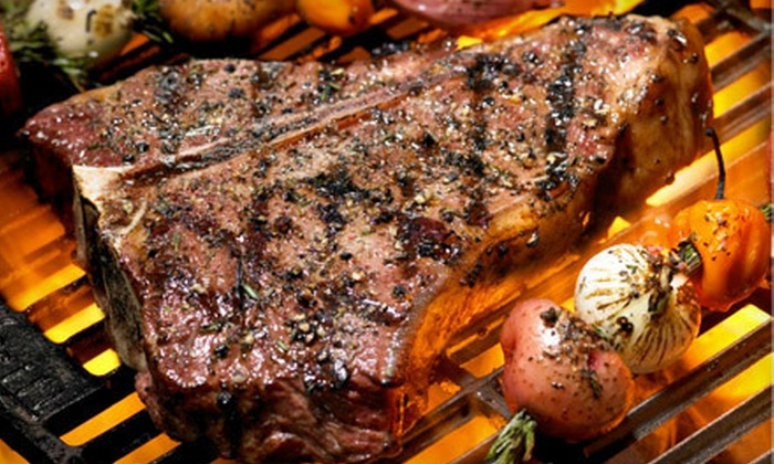 Tropical Acres Steakhouse - Dania Beach: Chops, Seafood, and Italian Fare at Tropical Acres Steakhouse (Half Off). Two Options Available.