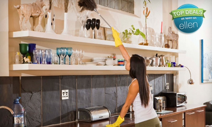IA House Cleaning - Multiple Locations: One or Three Two-Hour Home-Cleaning Sessions from IA House Cleaning (Up to 63% Off)