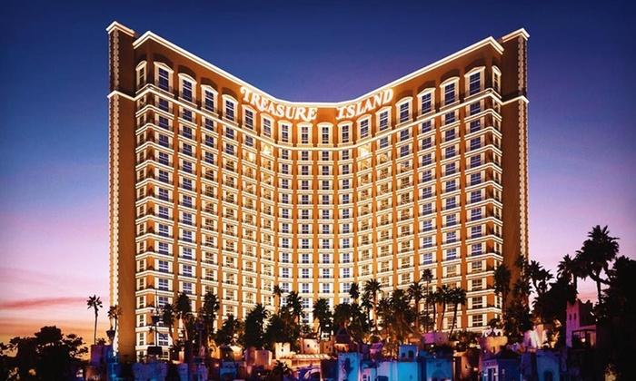 Treasure Island Hotel & Casino - The Strip: Two-Night Stay for Two in a Deluxe Room at Treasure Island Hotel & Casino in Las Vegas