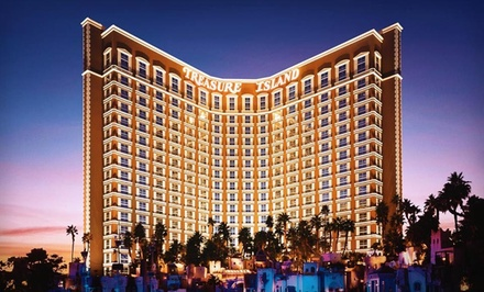 2-Night Stay for 2 in a Deluxe Room, Valid Sun.-Wed. - Treasure Island Hotel & Casino in Las Vegas