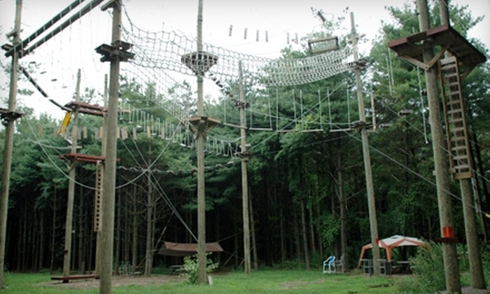 Summit Vision - Westerville: $20 for a Four-Hour Ropes Course Session at Summit Vision in Westerville ($40 Value)