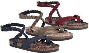 Muk Luks Estelle Women's Criss-Cross Sandals