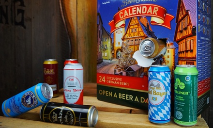 Kalea Beer Advent Calendar: 24 Beers in 500ml Cans With Free Delivery