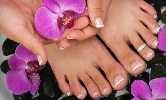 Roma &  Co. - Kendall: Mani-Pedi or Shellac Manicure and Salon Pedicure at Roma & Co. in Kendall