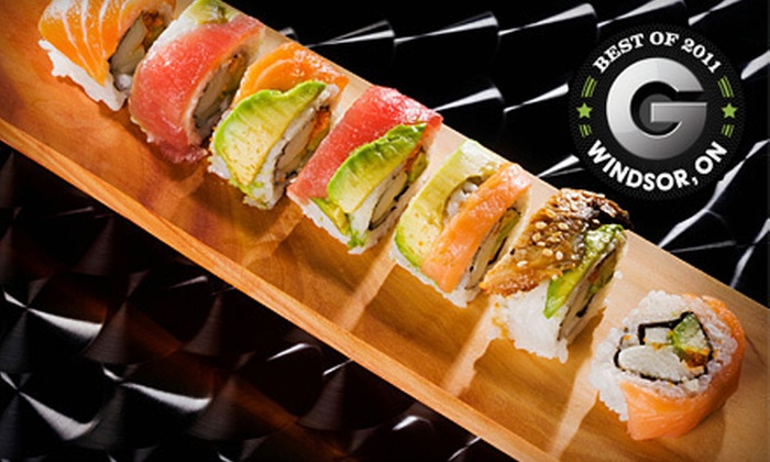 Iguana Sushi Bar - Multiple Locations: Sushi Meal for Two or Four or $15 for $30 Worth of Cuisine at Iguana Sushi Bar (Up to 58% Off). Two Locations Available.