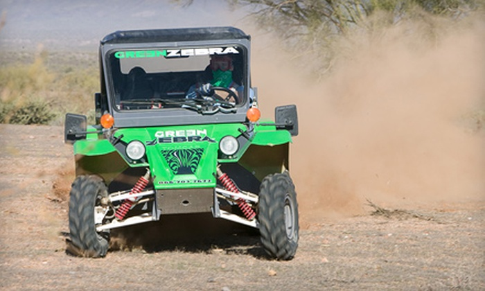 Green Zebra Adventures - Ft. McDowell: $69 for an Off-Road Tomcar Tour from Green Zebra Adventures in Fort McDowell ($129 Value)