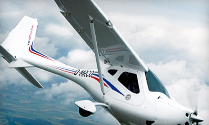 Pilot Journey Flight School: $65 for a Discovery Flight and Ground Lesson from Pilot Journey ($129.95 Value)