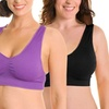 Angelina Wire-Free Seamless Bras in Regular and Plus Sizes (6-Pack)