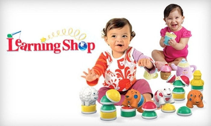 The Learning Shop - Multiple Locations: $15 for $30 Worth of Toys and More at the Learning Shop