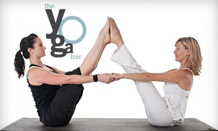 The Yoga Bar - Central Business District: $18 for Three Classes and 25% Off a Class Pass at The Yoga Bar ($45 Value)