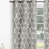 "Heavy Triple-Weave Metallic 76""x84"" Grommet Window Panel Pair"