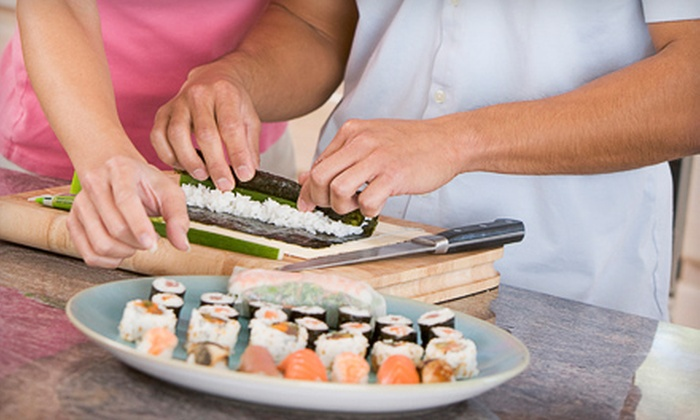 Sushi Bears - Findlay market: Sushi-Making or Indian-Cooking Class for Four at Sushi Bears (Up to 51% Off)