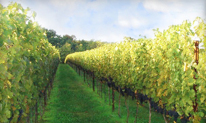 Frederick Wine Trail - Multiple Locations: $35 for Five-Winery Cellar Preview Tour from Frederick Wine Trail ($75 Value)