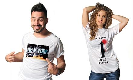 T-shirt personalizzabili a 8,99euro