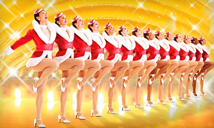 """""""Radio City Christmas Spectacular"""" starring The Rockettes - Midtown Center: One Orchestra or First-Mezzanine Ticket to the """"Radio City Christmas Spectacular"""" at Radio City Music Hall. Two Options Available."""
