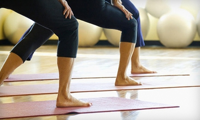 My Om Town Yoga - Westfield: $40 for One Month of Unlimited Classes at My Om Town Yoga in Westfield ($120 Value)