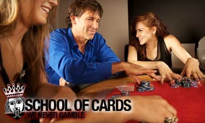 School of Cards - Chelsea: $50 for Three-Hour Introduction to Poker or Strategic Blackjack Classes from School of Cards ($150 Value)