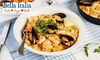 Bella Italia - Multiple Locations: Two- or Three-Course Italian Meal for Two or Four at Bella Italia, Multiple Locations (Up to 61% Off)