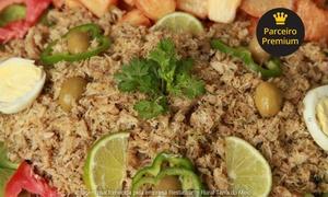 Restaurante Rural Terra do Meio: Terra do Meio – Marituba: caranguejo à moda com acompanhamentos para 2 ou 4 pessoas