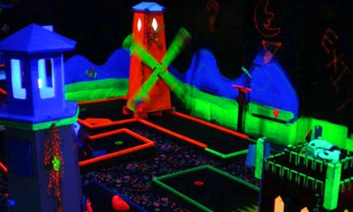 Pirate Mini Golf - Marion: $6 for a Round of Black-Light Mini Golf for Two at Pirate Mini Golf in Marion ($12 Value)