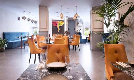 Menú indio para 2 o 4 con entrante, principal, acompañamiento, postre y bebida desde 29,95 € en Ananta Restaurante