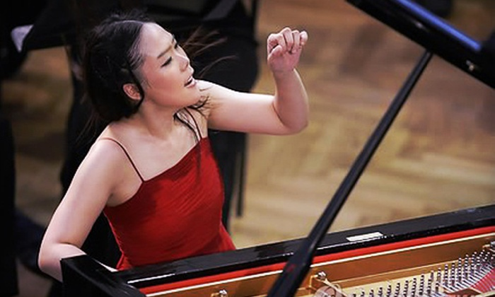 Music Worcester Presents Yeol Eum Son - Central Business District: Orchestra Night for Two or Four to See Pianist Yeol Eum Son at Mechanics Hall on March 7 at 8 p.m. (Up to 56% Off)