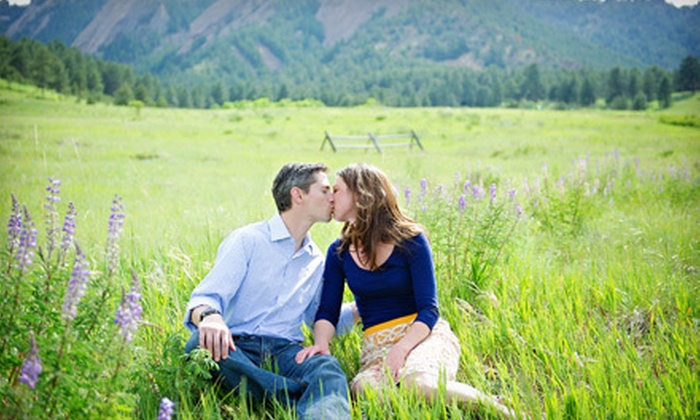 Butterflykiss Portraits - Scotch Pines: $65 for a One-Hour On-Location Couples Photo Shoot with Six Prints from Butterflykiss Portraits (Up to $181 Value)