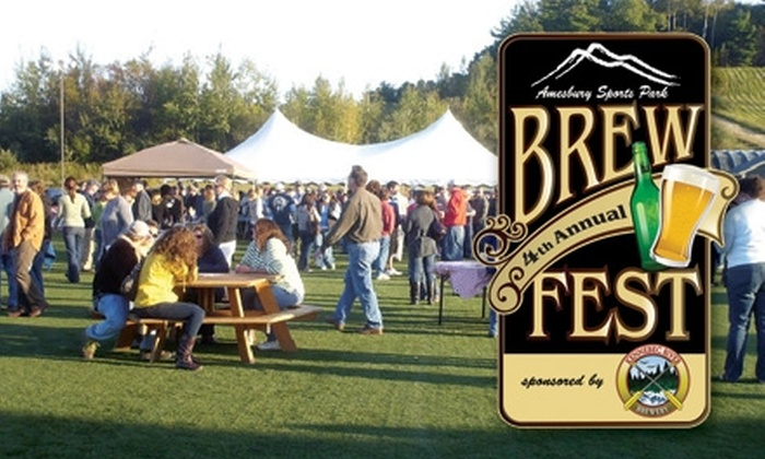 Amesbury Sports Park - Amesbury: $5 for a Ticket to the 4th Annual Brew Fest at Amesbury Sports Park ($10 Value)