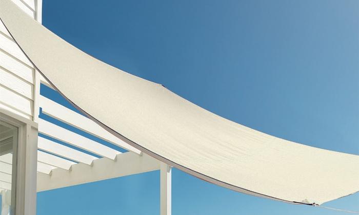 Harbour Housewares Sun Shade Sail