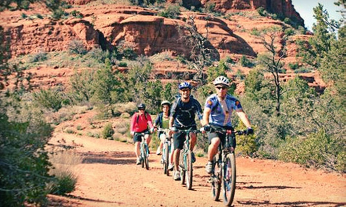 Sedona Destination Adventures - Multiple Locations: Beginner Mountain-Bike Tour for Two or Four from Sedona Destination Adventures (Up To 52% Off). Four Options Available.