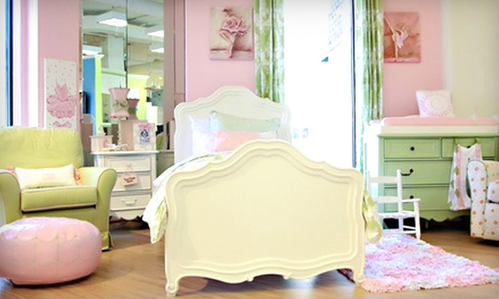 Shower Me With Love - Myers Park: Boutique Baby and Children's Gear or Baby and Children's Furniture at Shower Me With Love (Up to 60% Off)