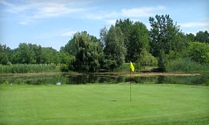 Eagle Valley Golf Club - Niagara Falls: $39 for 18 Holes of Golf for Two, Cart Rental, and Large Bucket of Range Balls at Eagle Valley Golf Club (Up to $80.15 Value)