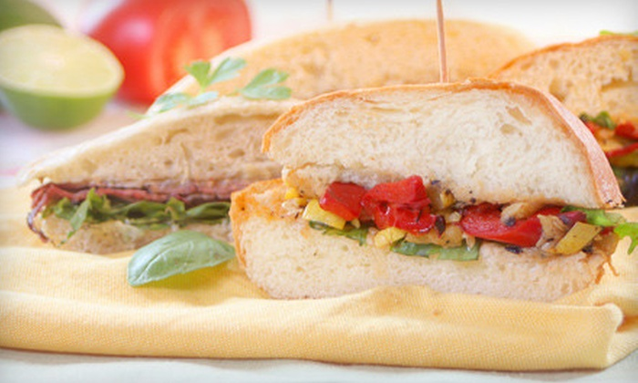 Urban Rustic - Greenpoint,North Side,North Williamsburg - North Side,Williamsburg: Up to 63% Off Organic Sandwiches and Growlers for Two at Urban Rustic in Brooklyn