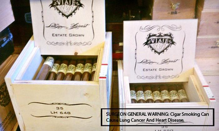 Good Karma Cigar - Downtown Amarillo: $20 for a Cigar Sampler Package at Good Karma Cigar ($40 Value)