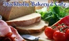 Stockholm Bakery & Cafe - Kingsburg: $5 for $10 Worth of Sandwiches, Pastries, and Coffee at Stockholm Bakery & Cafe in Kingsburg