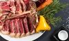 Gran menu di carne
