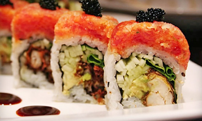 Kenji Hibachi and Sushi Bar - Short Pump: $15 for $30 Worth of Japanese Dinner Fare at Kenji Hibachi and Sushi Bar