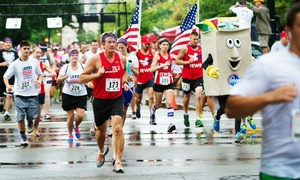 Kroger's Veterans Associate Resource Group: Entry for One, Two, or Four to the Honoring Our Heroes 5K on October 15 (Up to 54% Off)