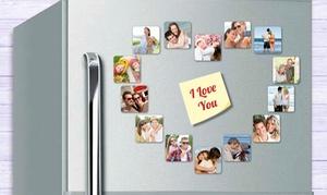 Personaliza.com: Pack foto imanes personalizados de 2 tamaños con envío gratuito desde 17,90 € en Personaliza.com