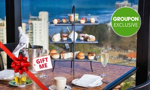 Four Winds 360° Revolving Restaurant: Sparkling High Tea for One ($29) or Six People ($139) at Awarded Four Winds 360° Revolving Restaurant (Up to $276 Value)