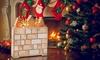 10-LED Wooden Advent Calendar