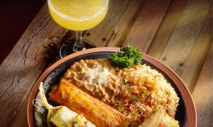 3 Amigos Mexican Bar & Grill - Marietta: Mexican Dinner for Two or Four at 3 Amigos Mexican Bar & Grill (Up to 64% Off)